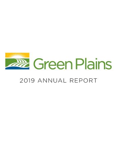 GPRE 2019 Annual Report