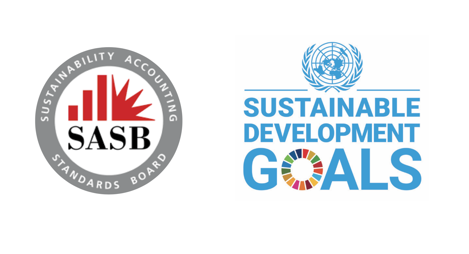 SASB and UN Sustainable Development Goals logos